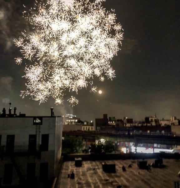 Bushwick Roof, July 4