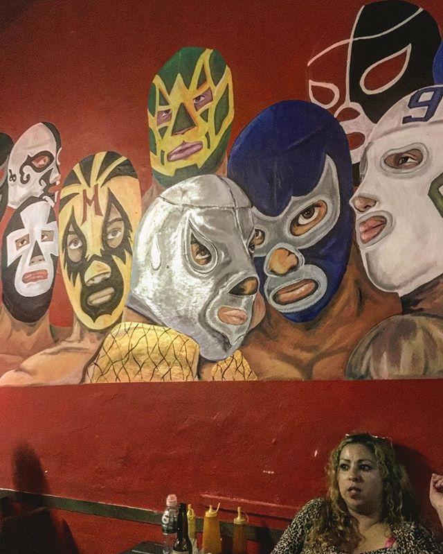 Bar near lucha stadium