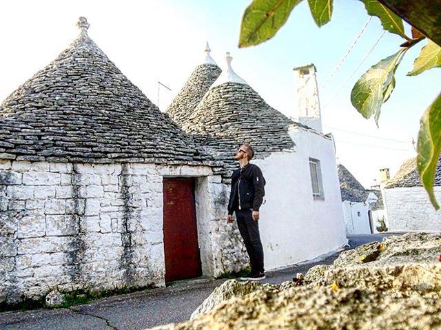 A Trulli house in Alberobello