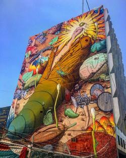Art by Liqen, Centro Historico