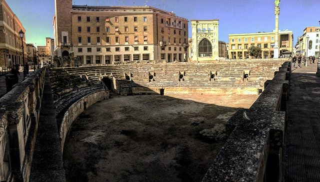 Roman Amphitheater, Lecce