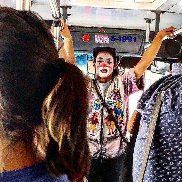 Bus clown