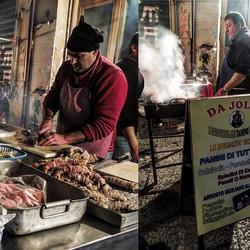 Night grillin' in the Vucciria hood of Palermo