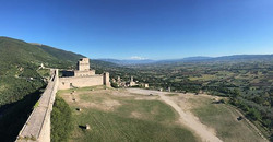 View From Assisi Fortress