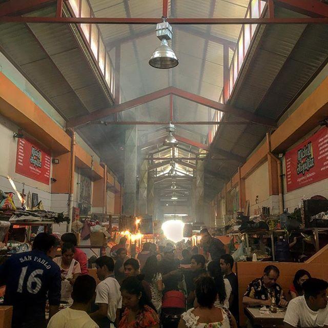 Pasillo Ahumado, Oaxaca City mercado