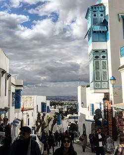 Sidi Bou Said, above Carthage