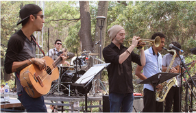 Taking the pulse of Guadalajara's jazz scene at an urban park on Sunday