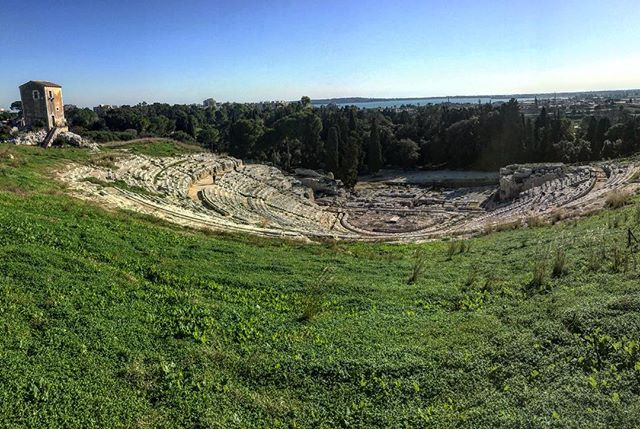 Greek Theater in Siracusa, Sicily