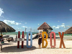 Holbox island, off the north coast of th