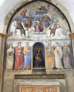 Rafael fresco from 1504ish