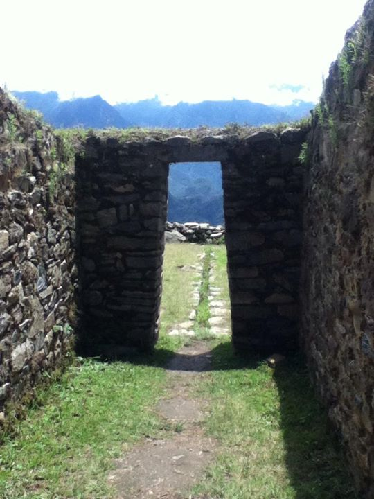 Looking Towards Machu Picchu