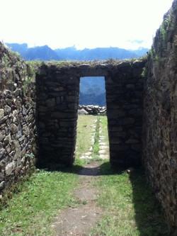 Looking Towards Machu Picchu