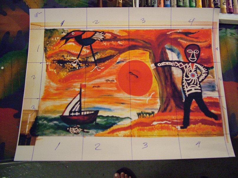 Birth of the sun Mural recreation.JPG