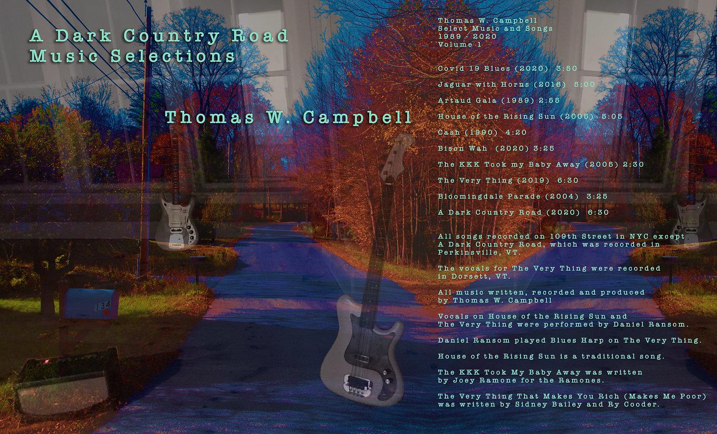 Dark Country Road Album  Square V2.jpg