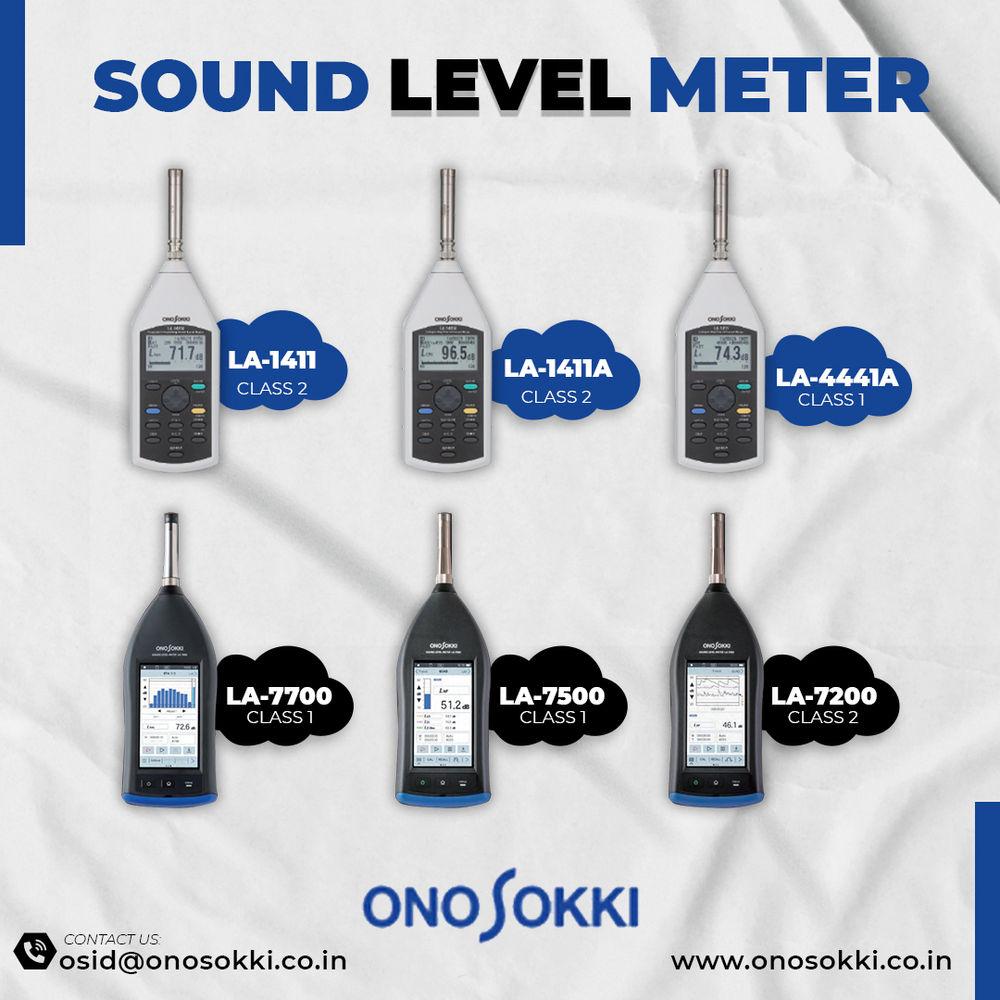 Sound Level Meter in India | Onosokki India