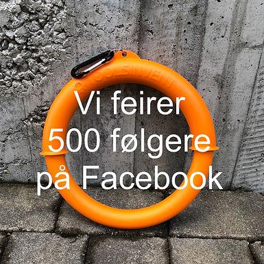Vi feirer 500 følgere på Facebook