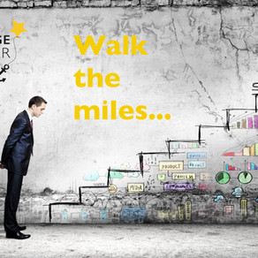 Walk the miles