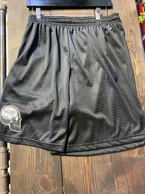 Passion Skull Logo Athletic Shorts