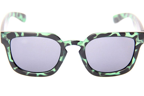 Happy Hour Wolf Pup Matte Green Tortoise