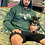 Thumbnail: Passion Rose Hoodie Forest Green