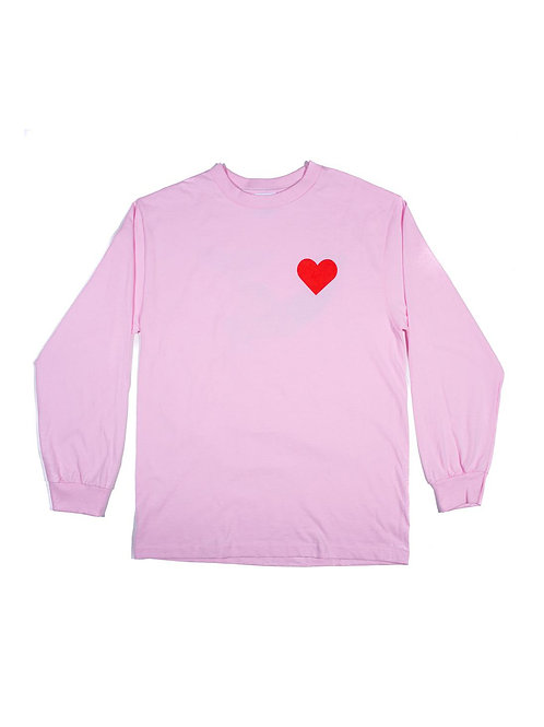 Alltimers Dustin Pink Long Sleeve