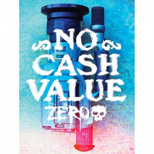 "Zero No Cash Value 5"" Sticker"