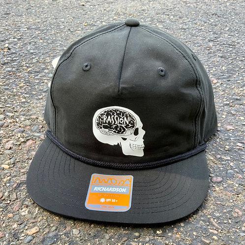 Passion Skull Hat Black