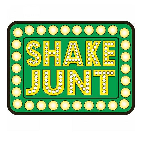"Shake Junt Box Logo 5"" Sticker"