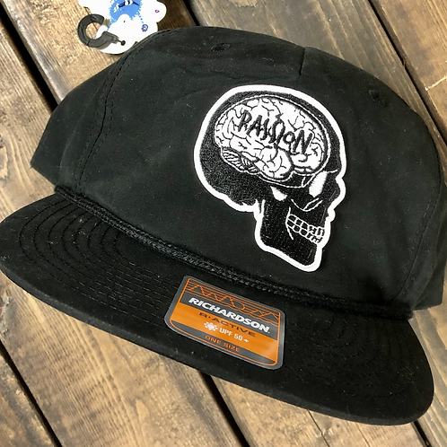 Skull Patch SnapBack Black