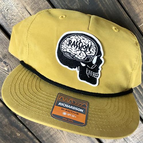 Skull SnapBack Mustard