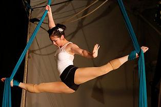 aloft student, aerial silks
