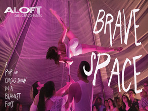 Brave Space premieres next weekend, Oct 6-7.