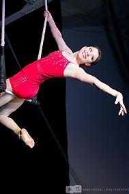 Chloe Zabicki, aerialist