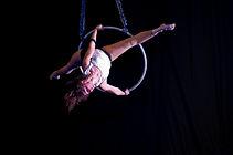aloft student, lyra, aerial hoop