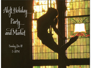 Aloft's first ever Holiday Party and Market!