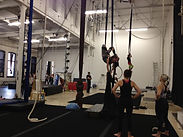 aloft main studio, conditioning class