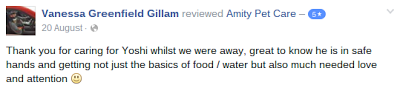 Five Star Review From Facebook