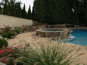 spa and swimming pool - Jim Heller Assoc.