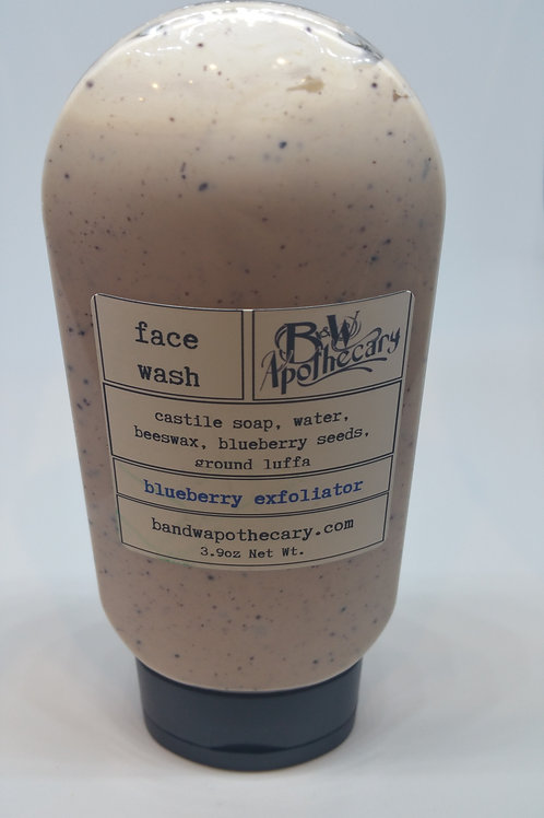 Blueberry face wash