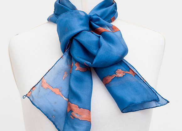 Écharpe azul francês