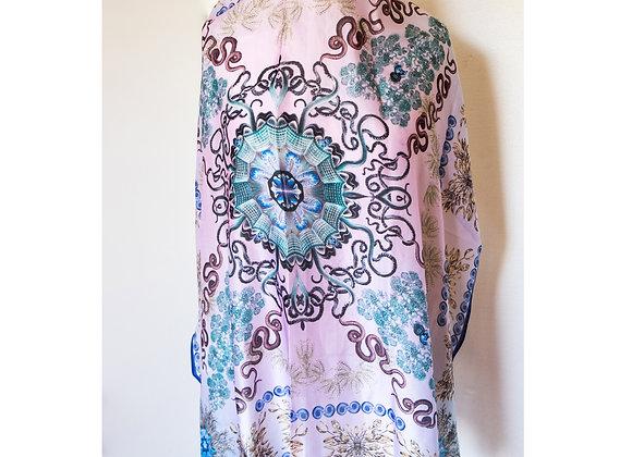 Foulard Haeckel Dream - Silk Sheer