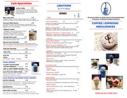Drinks & Desserts 1