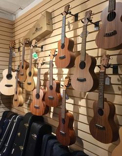 Islander Guitars & Ukuleles