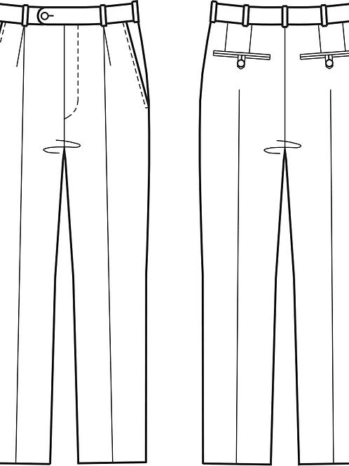 Mönster grundmodell klassisk herrbyxa strl 44-58