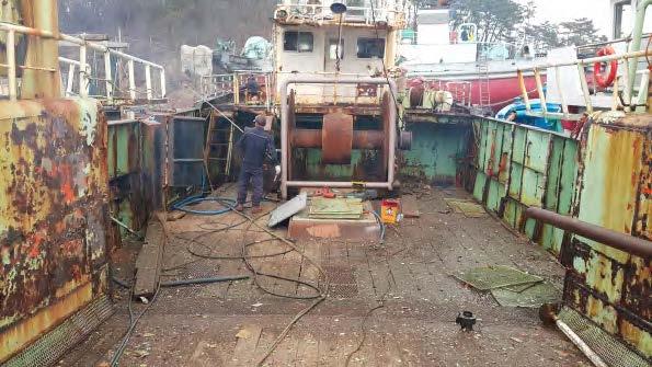MFV JangYung Deck Condition 1