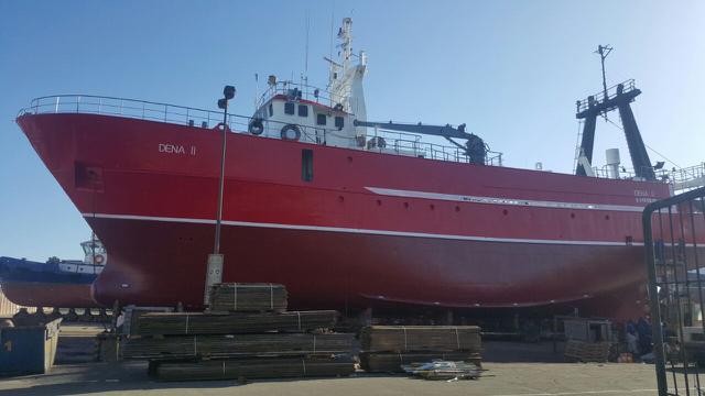 MFV Ohamba Ship Repairs Walvis Bay