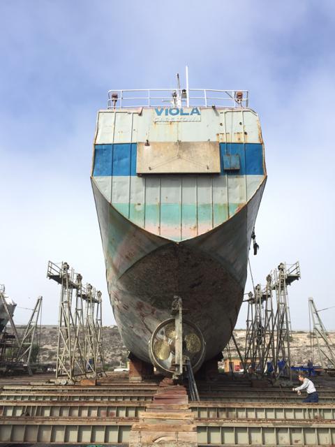 Viola Dry Docking and Repairs