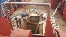 JungYang Dry Dock deck