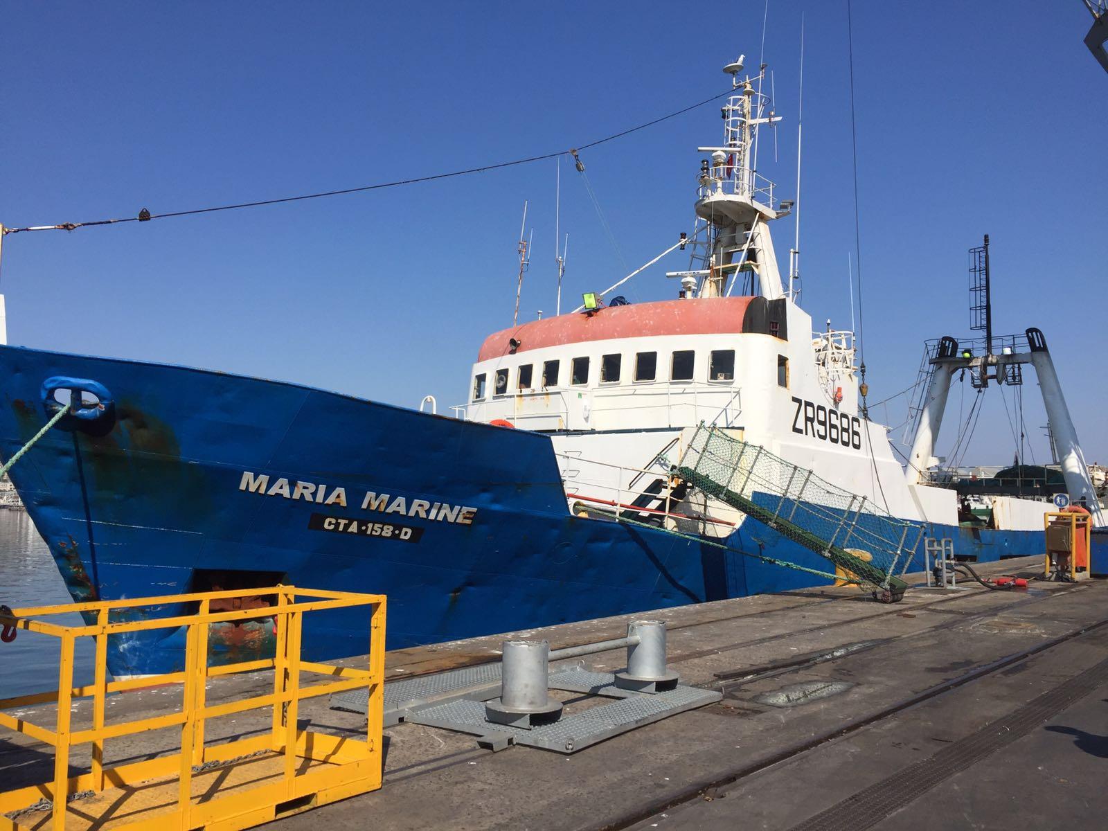 Stern Wetfish Trawler