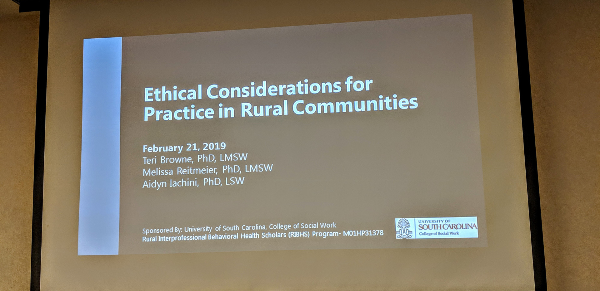 Rural Ethics Training Title Slide 2019